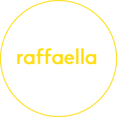 logo raffaella diseño de restaurantes